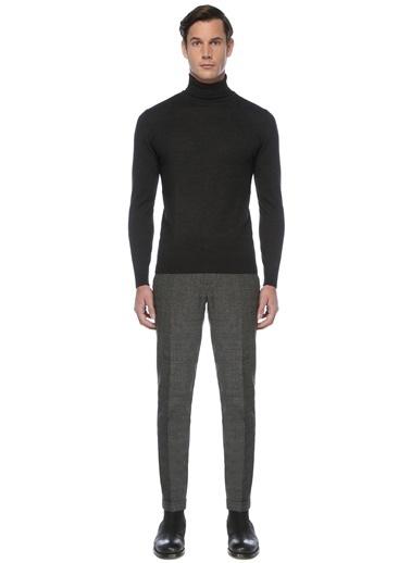 NetWork Erkek 1076533 Ekose Pantolon Siyah